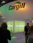 Cargill's booth
