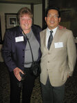 Pat Halle (Ungerer & Co.) and Bill Jin (Pearlchem) at the WFFC Woman of the Year event