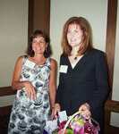 from left: Nancy Poulos (Treatt USA), Joanne Kennedy (FONA International)