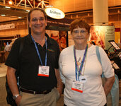 Morry Seidel and June Thompson (both Frutarom USA)