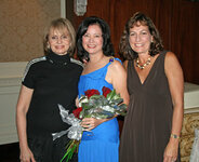 from left: Helen Feygin, Ruth Sutcliffe, Nancy Poulos