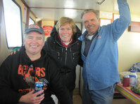 Bob Papp, Mary Anne Roberts and Dave Soltis