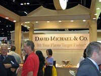 David Michael & Co.'s booth