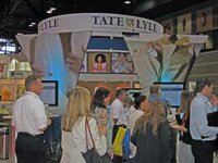Tate & Lyle's booth