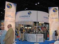 Synergy's booth