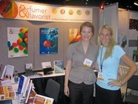 left to right: Kelly Frederick, Paige Crist (both Perfumer & Flavorist magazine)