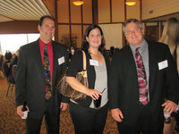 Glenn Sabat, Sue Fillingham and Fred Keifer (all Firmenich) at WFFC Woman of the Year event