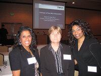 Alpa Roman (Flavor & Fragrance Specialties), Karen Alexander (IFF) and Lisa Ramraj (Horner International)