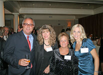 from left: Jeff Rakity, Dianne Sansone, Janice Ford, Paige Crist