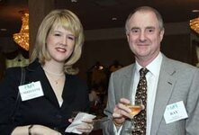 left to right: Christine Wessel (Wessel Fragrances Inc.), Ray Hone (Wessel Fragrances Inc.)