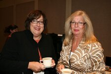 Sharon Maes and Lisa Lewis