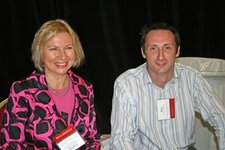 Florentina Cimpian (Charkit Chemical Corp.), Steve Pringle (Charkit Chemical Corp.)