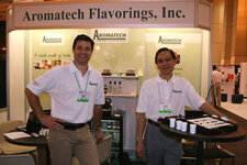 from left: David Pujol and Steve Oei (both Aromatech)
