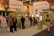 Naturex's booth