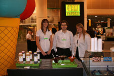 from left: Brynn Freiburger, Jason Carmi and Sarah O'Dell (all Carmi Flavors & Fragrances)