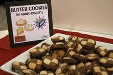 Bell displayed butter cookies with no added diacetyl