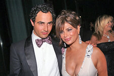 Designer Zac Posen and Paula Abdul