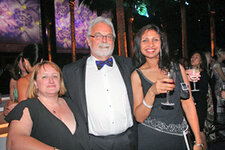 Coty's Laurie Welsh, Les Smith, Priya Upadhyay