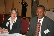 from left: Julie Weisman, Robert Maxwell (both Elan Inc.)