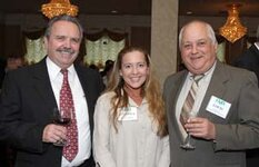 left to right: unknown, Jennifer Passamonte (Vigon International), Louis Serafini (The John D. Walsh Co. Inc.)