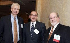 left to right: Kenneth (IFF), Bob D. (IFF), Stephen Hicks (Procter & Gamble)