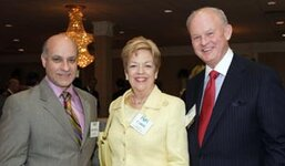 left to right: Thomas Santini, Carol Wessel, Ken Wessel (all from Wessel Fragrances Inc.)