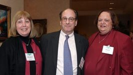 left to right: Eileen Hedrick (Belmay Inc.), Glenn Roberts (FMA), Pamela Dodd (Givaudan)