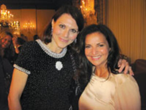 Christine Dagousset (Chanel, Inc.) and Veronique Gabai-Pinsky (The Estée Lauder Companies, Inc.)