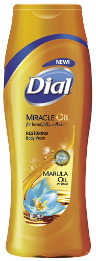 Dial Miracle Oil Marula Oil Infused Restoring Body Wash