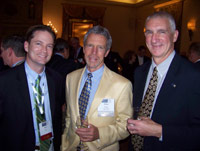 John Cox, Mike Davis and John Hallagan.
