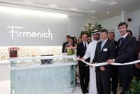 Inauguration of Firmenich's Dubai office