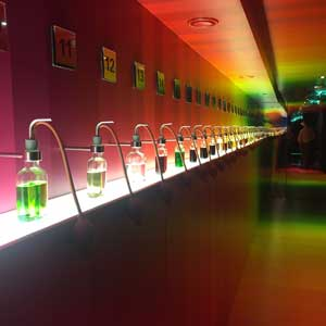 House of Bols smelling chamber