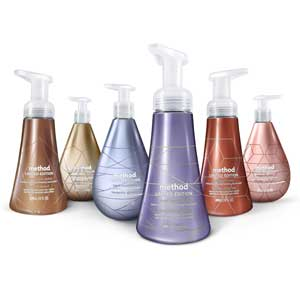 Method Shines With Metallic-scented Personal Care Products