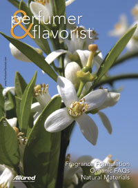 Perfumer & Flavorist March 2007 cover