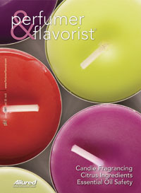 Perfumer & Flavorist June 2007 cover