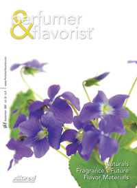 Perfumer & Flavorist September 2007 cover