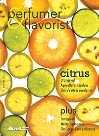 Perfumer & Flavorist March 2009 cover