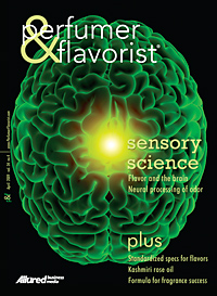 Perfumer & Flavorist April 2009 cover