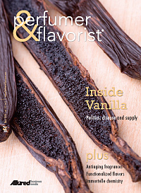 Perfumer & Flavorist May 2009 cover