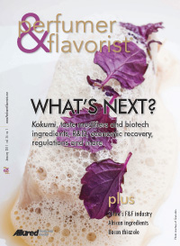 Perfumer & Flavorist January 2011 cover