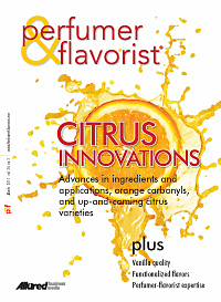 Perfumer & Flavorist March 2011 cover