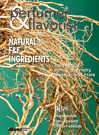Perfumer & Flavorist October 2011 cover