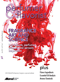 Perfumer & Flavorist June 2012 cover