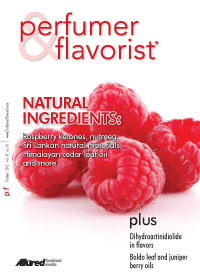 Perfumer & Flavorist October 2012 cover