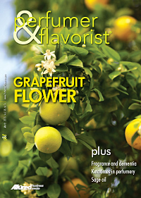 Perfumer & Flavorist March 2013 cover