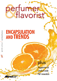 Perfumer & Flavorist April 2013 cover