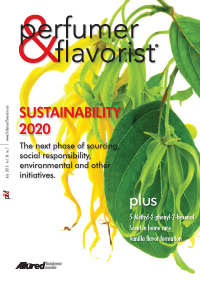 Perfumer & Flavorist July 2013 cover