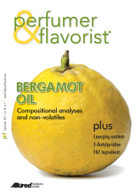Perfumer & Flavorist September 2013 cover