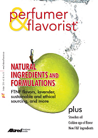 Perfumer & Flavorist October 2013 cover