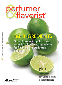 Perfumer & Flavorist January 2015 cover